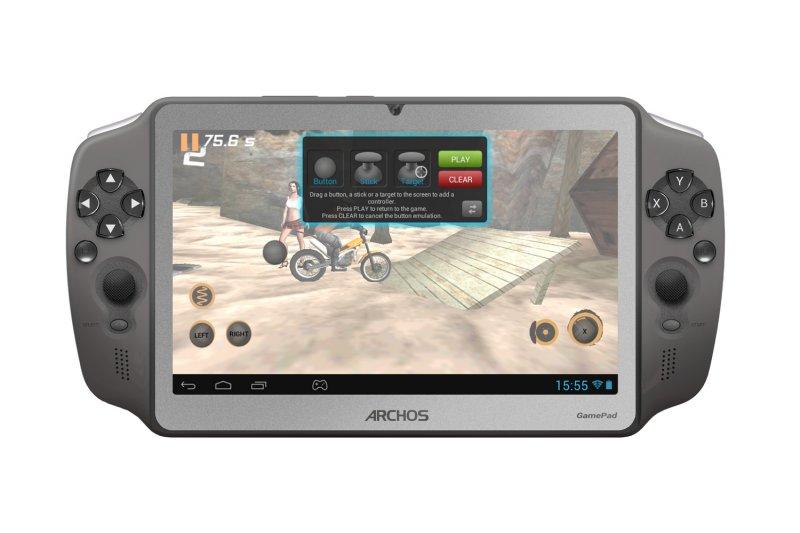 Mobile gaming con controlli fisici? Ecco l'Archos GamePad