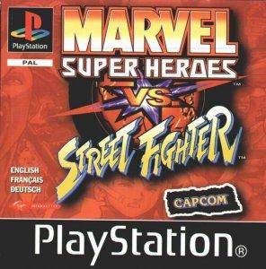 Marvel Super Heroes vs. Street Fighter per PlayStation