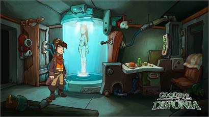 Daedalic Entertainment annuncia Goodbye Deponia