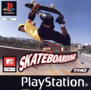 MTV Sports: Skateboarding featuring Andy Macdonald per PlayStation