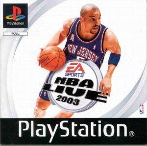 NBA Live 2003 per PlayStation