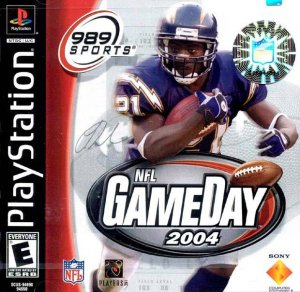 NFL GameDay 2004 per PlayStation
