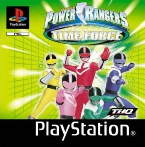 Power Rangers Time Force per PlayStation