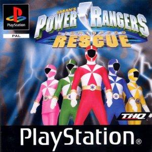 Power Rangers Lightspeed Rescue per PlayStation