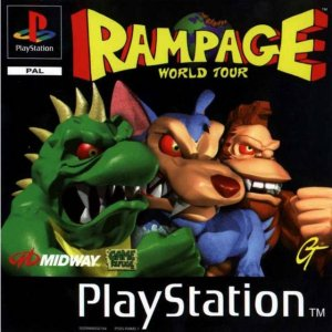Rampage World Tour per PlayStation