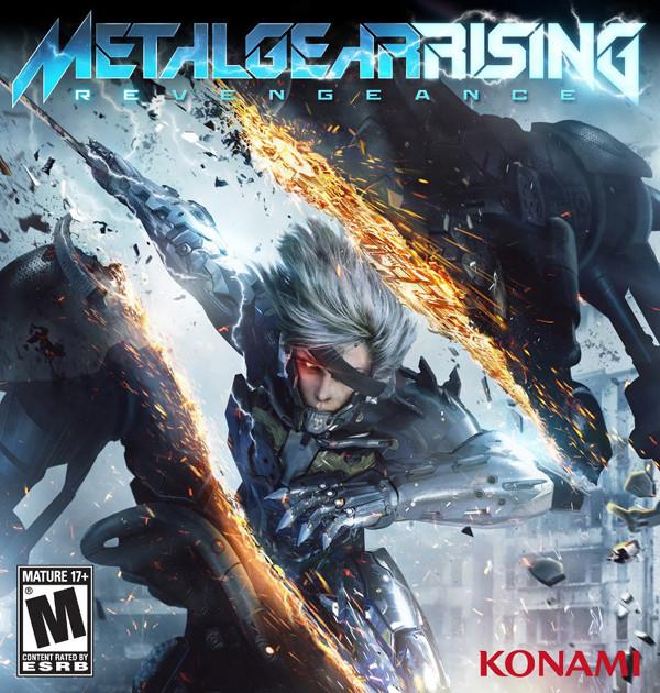 Metal Gear Rising: Revengeance - La copertina americana