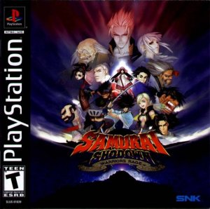 Samurai Shodown Warriors Rage per PlayStation