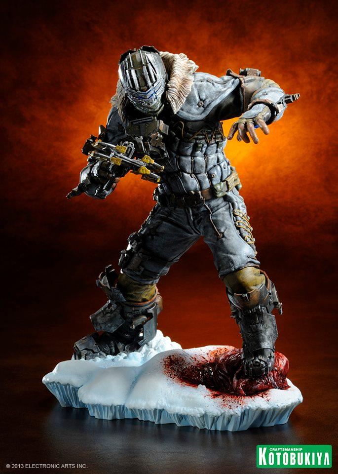 Dead Space 3 - Annunciata un'action figure  speciale per Isaac Clarke