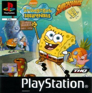 SpongeBob SquarePants: SuperSponge per PlayStation