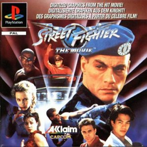 Street Fighter: The Movie per PlayStation