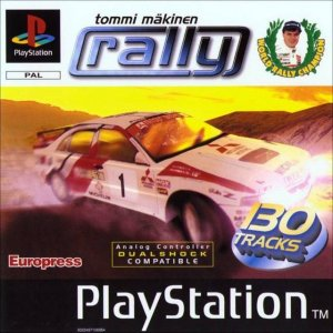 Tommi Makinen Rally per PlayStation