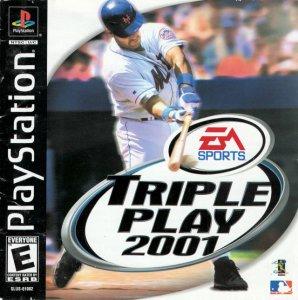 Triple Play 2001 per PlayStation