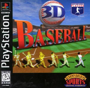 3D Baseball per PlayStation
