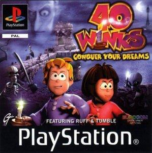 40 Winks per PlayStation