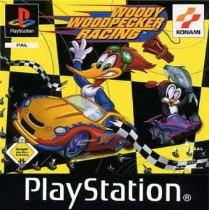 Woody Woodpecker Racing per PlayStation