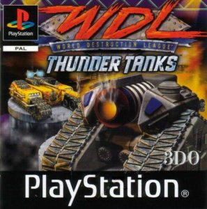 World Destruction League: Thunder Tanks per PlayStation