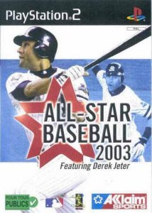 All-Star Baseball 2003 per PlayStation 2