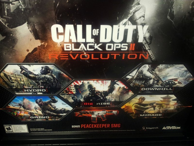 [Aggiornata] Call of Duty: Black Ops II, spunta un'immagine del DLC Revolution