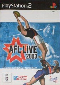 AFL Live 2003 per PlayStation 2