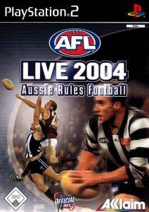 AFL Live 2004 per PlayStation 2