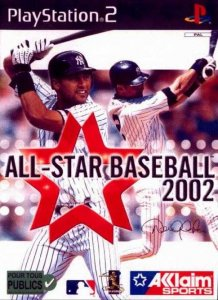 All-Star Baseball 2002 per PlayStation 2