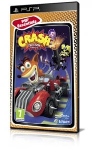 Crash Tag Team Racing per PlayStation Portable