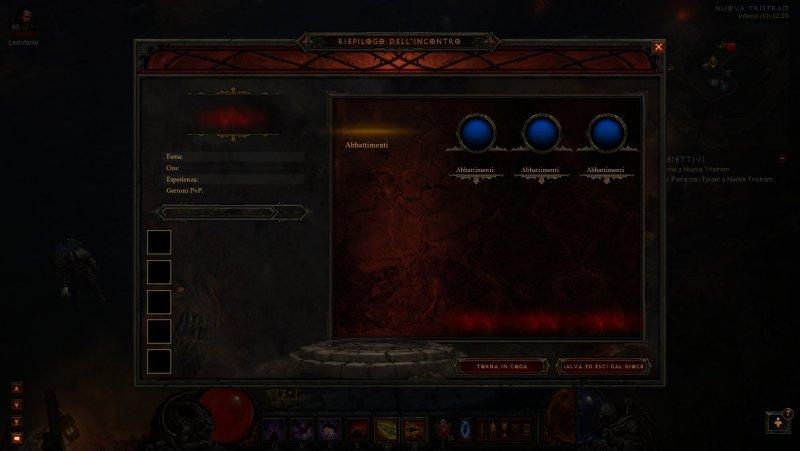 Diablo III - Uno screen mostra un pezzo dell'interfaccia del multiplayer?