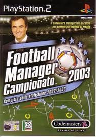 Football Manager Campionato 2003 per PlayStation 2