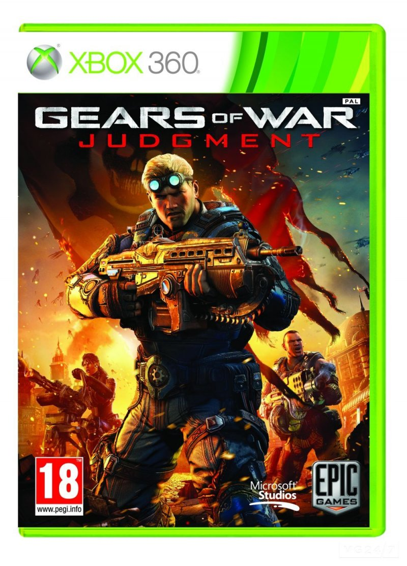 Gears of War: Judgment - La cover ufficiale