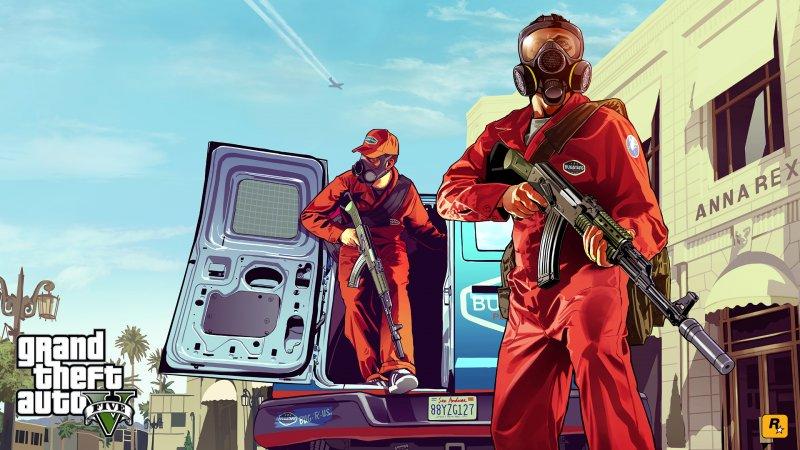 [aggiornata] Il primo artwork ufficiale per Grand Theft Auto V