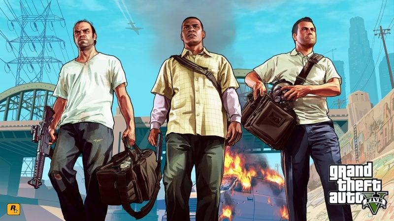 Tutti gli artwork di Grand Theft Auto V in alta risoluzione