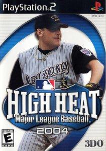 High Heat Major League Baseball 2004 per PlayStation 2