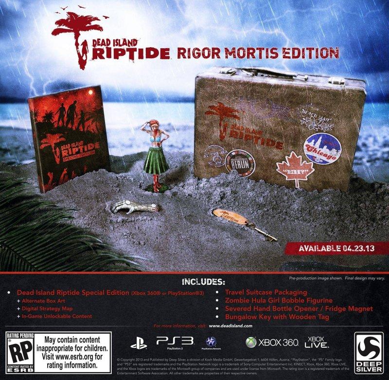 Dead Island: Riptide, annunciata la Rigor Mortis Edition