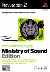 Moderngroove: Ministry of Sound Edition per PlayStation 2
