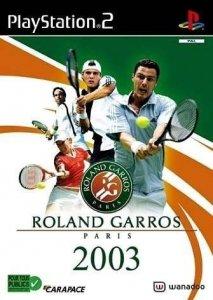 Roland Garros 2003 per PlayStation 2