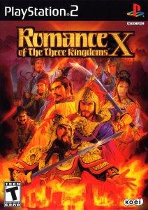 Romance of the Three Kingdoms X per PlayStation 2
