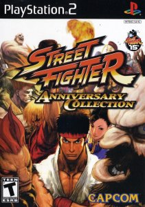 Street Fighter Anniversary Collection per PlayStation 2