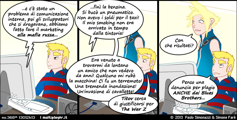 Le scuse di War Z
