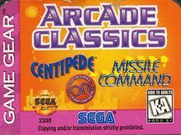 Arcade Classics per Sega Game Gear