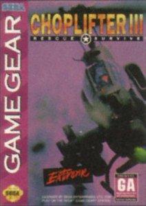Choplifter III per Sega Game Gear