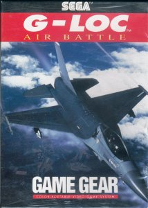 G-LOC Air Battle per Sega Game Gear
