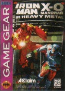 Iron Man / X-O Manowar in Heavy Metal per Sega Game Gear