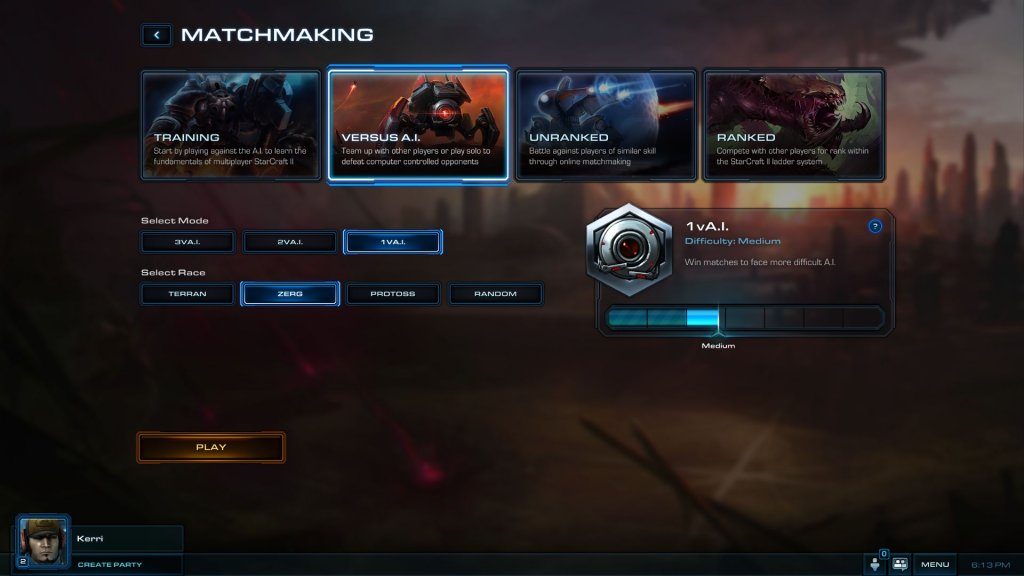 evolvere PC matchmaking