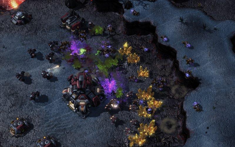 StarCraft 2 cuore del matchmaking Swarm non funziona