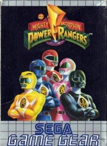 Mighty Morphin Power Rangers per Sega Game Gear