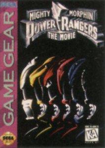 Mighty Morphin Power Rangers: The Movie per Sega Game Gear
