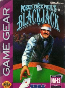 Poker Face Paul's Blackjack per Sega Game Gear