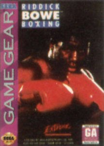 Riddick Bowe Boxing per Sega Game Gear