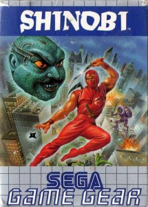 Shinobi per Sega Game Gear