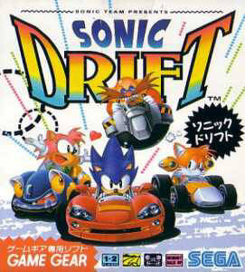Sonic Drift per Sega Game Gear